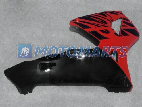 Black Red Injection Mote Motorcycle Fairings Kit för Honda CBR600RR 2005 2006 CBR 600 RR CBR600 05 06 Eftermarknad Fairing Kit