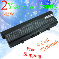 Wholesale Laptop Batteries Free Shipping - NEW+9 cell Replacement Laptop battery for Dell Inspiron 1525 1526 1545 M911G Free Shipping