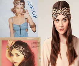 Girl's HairhandHair Band LEOPARD Retro Euramerican Hair Band Hairjewellery