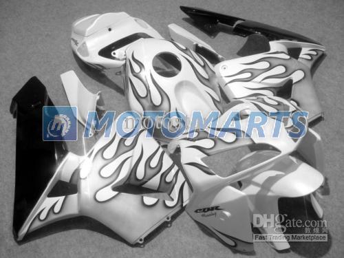 Juego de carenado del molde de inyección de llama negra PARA CBR600RR F5 2005 2006 CBR 600 RR 05 06 CBR600 600RR kit de carenados