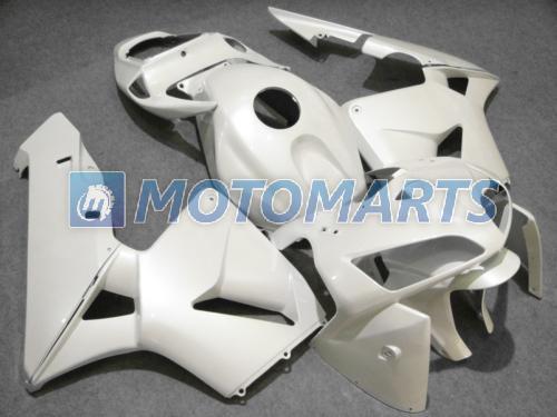 모든 백색 사출 성형 페어링 키트 FOR CBR600RR F5 2005 2006 CBR 600 RR 05 06 CBR600 600RR