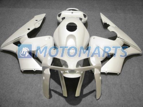 Carénage tout en blanc moulé par injection POUR CBR600RR F5 2005 2006 CBR 600 RR 05 06 CBR600 600RR