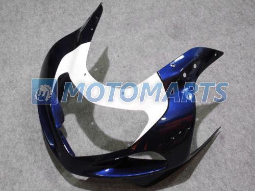 화이트 블루 ABS 페어링 키트 GSXR 600 750 K1 2001 2002 2003 GSXR600 GSXR750 01 02 03 R600 R750