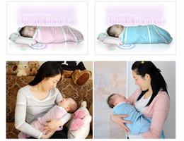 Wholesale Baby Sleeping Bags Pink Blue - 0-3M Baby wipes swaddling bag Baby Swaddler baby blanket ANBEBE Baby sleeping bags Pink, blue