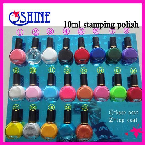 Professional Stamping Nail Polish For Nail Art Stamping Nail Art