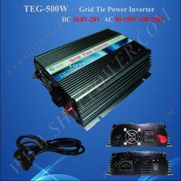 Wholesale Wind Mppt - Wholesale - !! 500W On Grid Tie Inverter,Solar wind MPPT function(DC10.5~28V,AC240V)