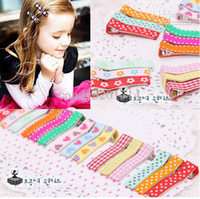 Wholesale Top Baby Headband Ornament - 2011 TOP BABY girls hair ornaments babys Headbands Childrens Hair Accessories