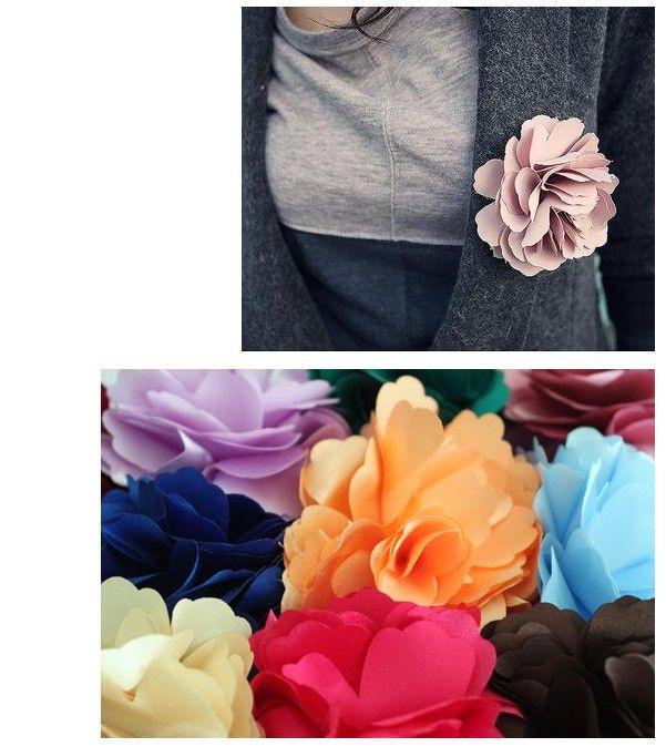 Lovely corsage flower lady hairpin head flower brooch multi-purpose, dandys