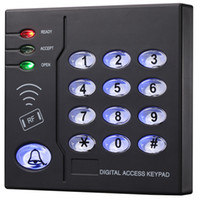 Wholesale Standalone Rfid - Brand New 6,500 User Proximity RFID 125Khz EM(ID) Card Plastic Access Control Keypad, Standalone Access Control