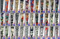 Wholesale Design Arm Sleeve Dresses - 50pcs Tattoo Arm Sleeves Dress Sleeve Tattoos Fashion 72 Styles Mixed Designs For Men & Women Hot