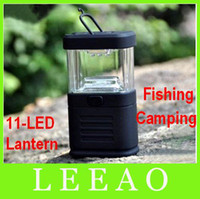 Meilleur prix mélange de couleur 60pcs / lot # 11LED Lanterne 11 LED Light Lamp for Camping Fishing Ourdoor