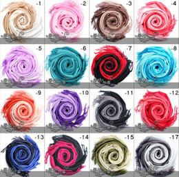 2019 encantos cuadrados de tela Las bufandas más calientes del color de la bufanda del gradiente de la manera bufandas del diseño de la manera para las muchachas de las mujeres 12color