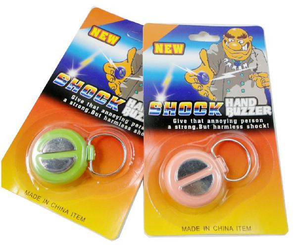 Funny Shocking Hand Buzer Joke Toy Prank Electric Shock Trick Shok Trik Funy Gag