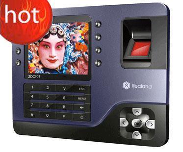 Биометрические отпечатков пальцев рекордер посещаемости времени часы Zdc90 благородный элегантный Бесплатная доставка