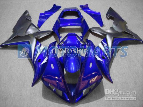 무료 맞춤형 버들 오토바이 페어링 키트 YZF R1 2002 2003 YZF1000 02 03 YZFR1 1000 YZF-R1 02-03 바디 수리 페어링