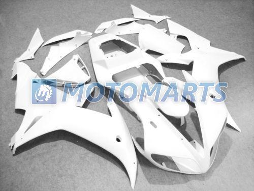 Todo blanco para el kit de carenado DIY para YZF R1 2002 2003 YZF1000 02 03 YZFR1 1000 YZF-R1 02-03