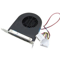 Wholesale Pieces New System Blower CPU Case PCI Slot Fan Cooler For PC