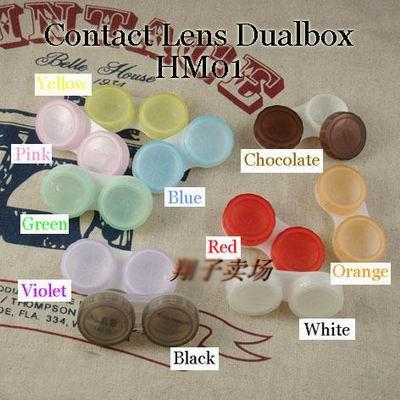 Detaljer många färger för alternativ kontaktlinser. Kontaktlinsen.