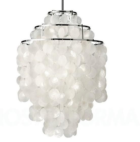 Good Discount Fumat Fun Verner Panton ,3 Circle,Diy Shell Pendant Lamp Dia40cm,  Seashell Chandelier , +Ceiling Light Shade Lantern Pendant From Goodsoft,  ... Pictures Gallery