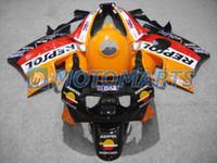 Wholesale 1994 Honda Cbr Fairings - Yellow for HONDA CBR600F2 91-94 CBR 600F2 CBR600 F2 91 92 93 94 1991 1992 1993 1994 Fairing kit X12