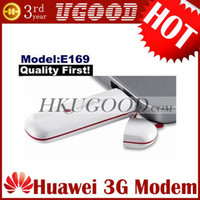 Wholesale Huawei 3g Usb Modem Antenna - Huawei E169 3G USB Hsupa 7.2M Modem Support External Antenna Connection And CE