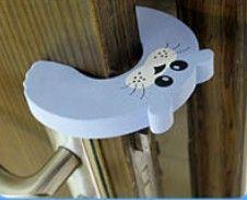 Lindo tapón de la puerta del bebé Protector de seguridad para el dedo protector del bebé Tarjeta de la puerta de seguridad para bebés Modelo animal