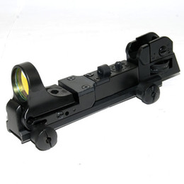 Wholesale C More Red Dot Sight - New! Replica C-more Holographic Red Dot Tactical Reflex Sight with Iron Sigh