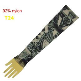 10x Manches populaires pour les idées de tatouage Fashional bras manches nouvelles conceptions manches faux tatouage vêtements T24