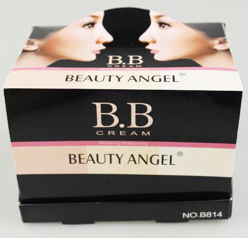 12 pçs / lote 3 cores BB Cream Make Up Base + Fundação Brilhante Suave Clareamento Hidratante 40 ml B814