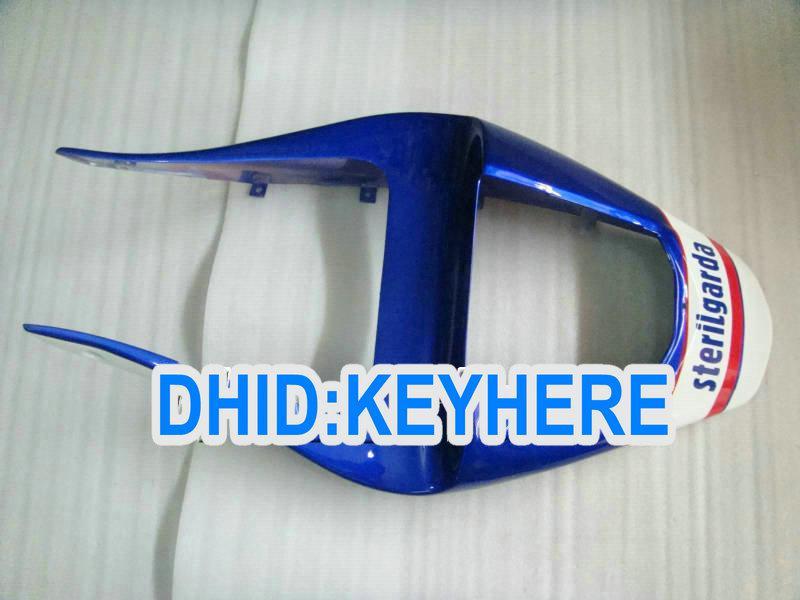 Kit de carénage en plastique ABS blanc / bleu pour YAMAHA YZF R1 2000 2001, carénages pour 00 01 YZF-R1 YZF R1 2000