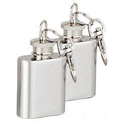 Anahtarlık ile yüksek kaliteli 1oz paslanmaz çelik mini hip flask, personlized logo kullanılabilir