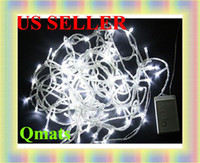 Wholesale 10pcs lotNew LED M white String Fairy Light XMAS Christmas Party Wedding lights Twinkle lights