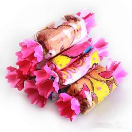 Мультяшный торт онлайн-Детское полотенце для девочек и мальчиков в форме конфет, 50 шт. / Лот, денди