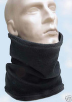 Wholesale Polar Fleece Scarf Hat - Multifunctional Scarf Neck Warmer Snood Scarf Hat Cold Weather Polar Fleece ear warmer Unisex Ski Wear 12 Color