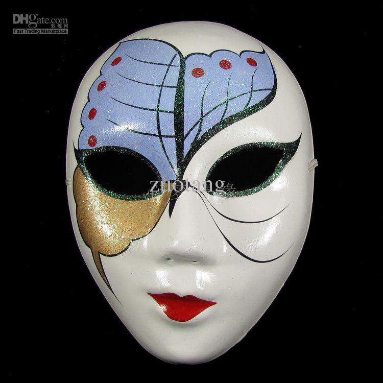 Masquerade Venetian Mask For Mardi Gras Chinese Paper Pulp ...