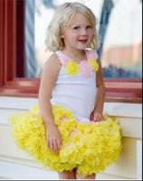 robe d'enfant tutu achat en gros de-New Fashion Tutu Dress avec volant bébé Tutu jupe fille jupe robe de bal tutu enfants enfants Hallowmas jupe de ballet