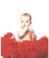Wholesale Toddler Pettiskirt Ruffle Skirts - Free shipping Baby Toddler Children girls Tutu Skirt Pettiskirt Dress 5pcs lot