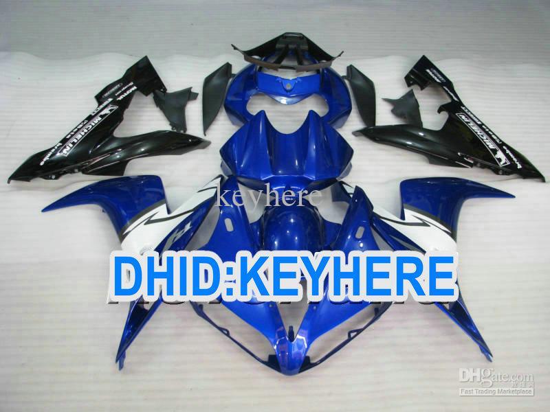 Conjunto de carenagens de motocicleta ABS conjunto completo azul para YAMAHA YZF-R1 2004 2005 2006 YZF R1 YZFR1 04 05 06