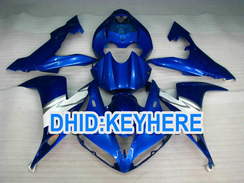 Juego de carenado Dark Blue Road para YAMAHA YZF-R1 2004 2005 2006 YZF R1 2004-2006 YZFR1 04 05 06 BODYKIT