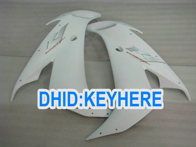 Kit de carenagem ABS branco brilhante para YAMAHA 2004 2005 2006 YZF-R1YZF R1 2004-2006 YZFR1 04 05 06