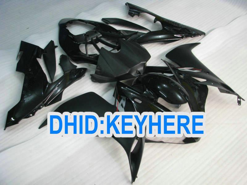 Alle schwarzen Verkleidung Verkleidungen für YAMAHA 2004 2005 2006 YZF-R1YZF R1 2004-2006 YZFR1 04 05 06