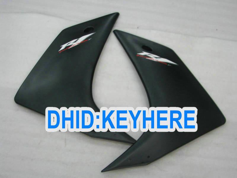 Kit de carénage ABS noir mat / brillant pour YAMAHA 2007 2008 YZF-R1YZF R1 Kit carrosserie 2007-2008 YZFR1