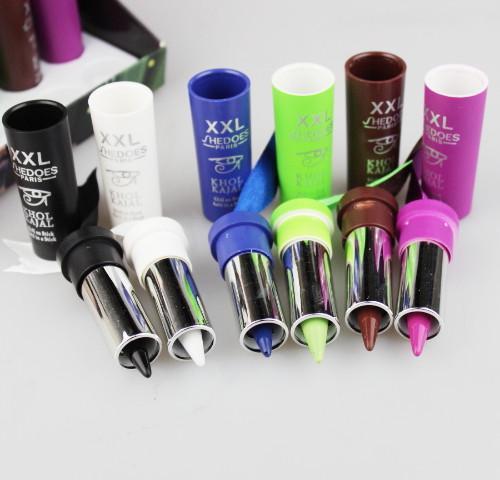 / box es delineador de ojos del palillo de la sombra de ojos esmeralda impermeable duradera suavidad mineral de Kohl 8125