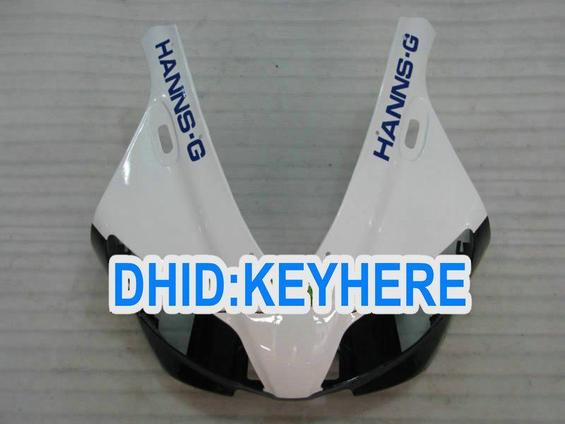 YNL84 화이트 Hannspree 페어링 키트 for YAMAHA YZF-R1 98 99 YZF R1 1998 1999 YZFR1 98-99 fairings