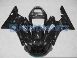 обтекатель мотоцикла комплект r1 98 Скидка Глянцевый черный мотоцикл обтекатель комплект для YAMAHA YZF R1 1998 1999 YZFR1 98 99 YZF-R1 98-99 YZF1000