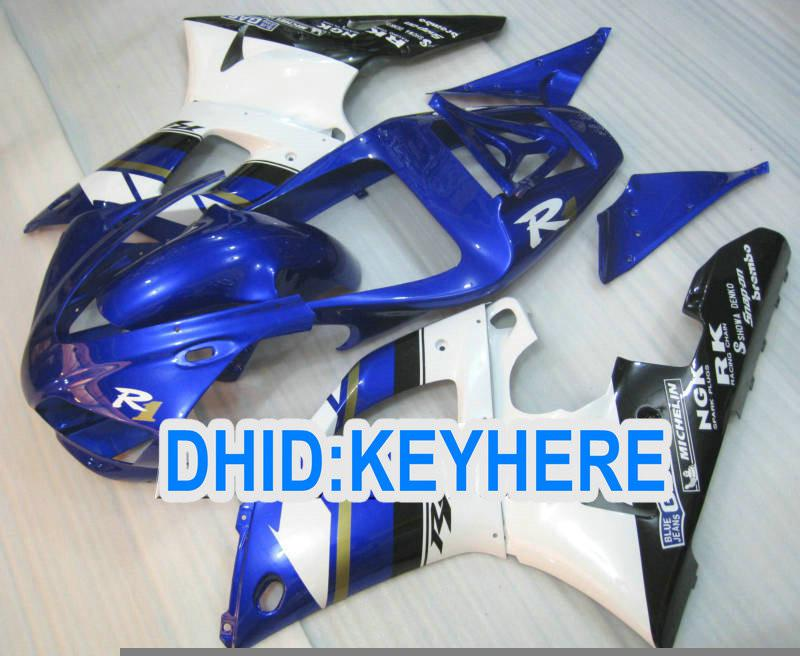 YNL85 volledige set ABS Plastic Fairing Kit voor Yamaha YZF-R1 98 99 YZF R1 1998 1999 YZFR1 98-99 Valerijen