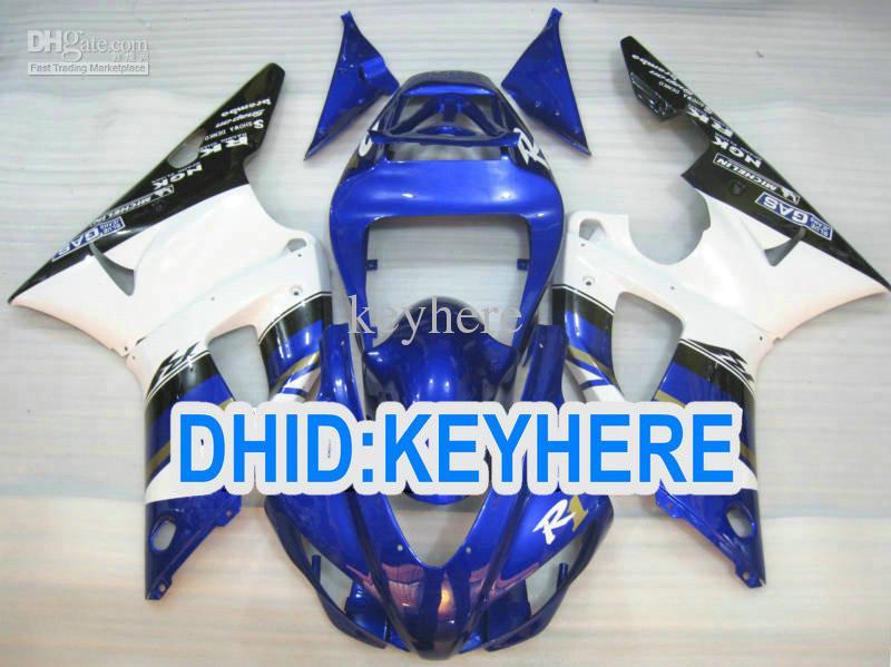 Juego completo de carenado de plástico ABS YNL85 para YAMAHA YZF-R1 98 99 YZF R1 1998 1999 YZFR1 98-99 carenados