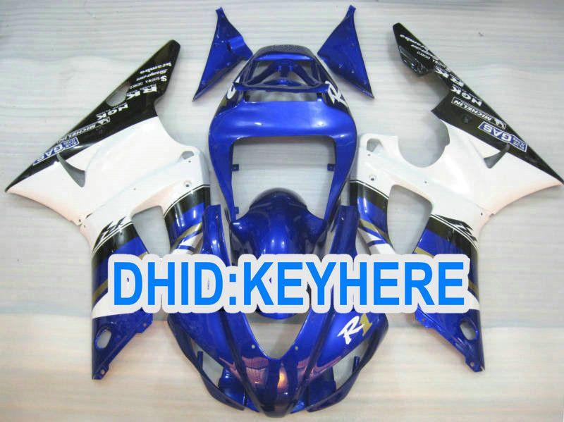 YNL85 Vollen Satz ABS Kunststoff Verkleidung Kit für YAMAHA YZF-R1 98 99 YZF R1 1998 1999 YZFR1 98-99 Verkleidungen
