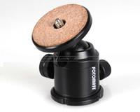 camara manfrotto al por mayor-Mini Ball Head para Manfrotto triopo Monopod Tripod K6L Accesorio para cámara