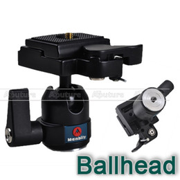 Wholesale Quick Release Head - Mini Ball Head with Quick-release Plate as Manfrotto 484RC2 for Canon, Nikon PK018